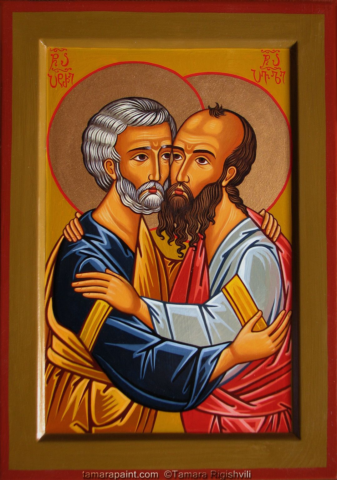 Saints Peter and Paul dans immagini sacre peterpaul
